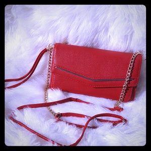 Handbags - Candy apple red crossbody